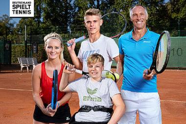 Deutschland spielt Tennis - mach mit