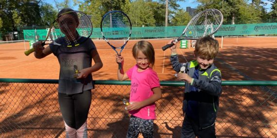 Justus, Luca und Marie nach der Siegerehrung